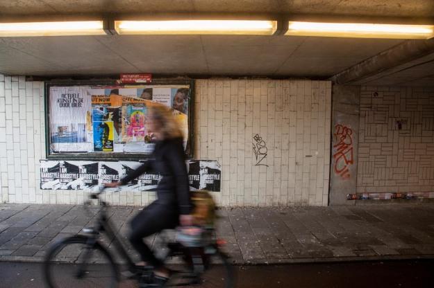 Foto van de Daalsetunnel, Utrecht